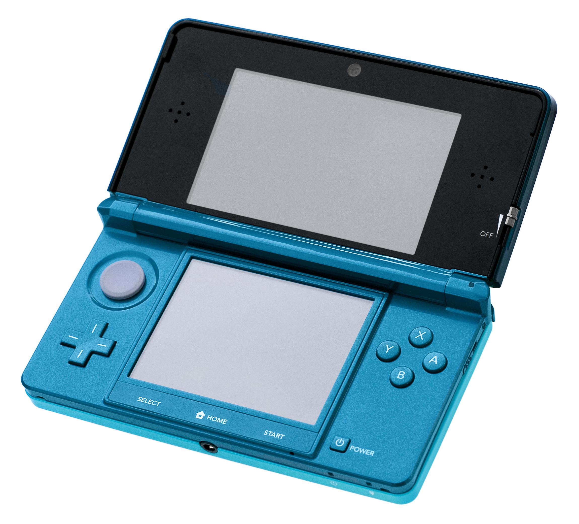 Nintendo 3DS-Aqua