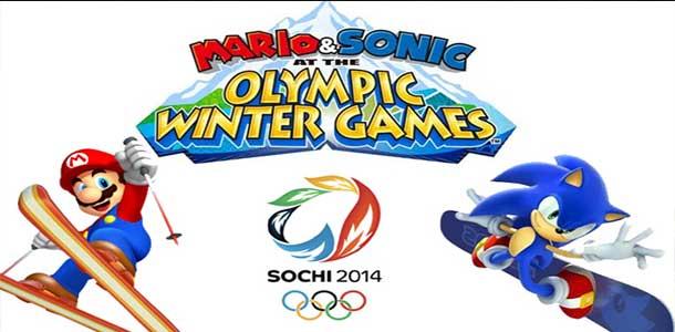 Mario a Sonic v Sochi