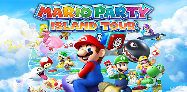 Mario Party: Island Tour hra na Nintendo 3DS