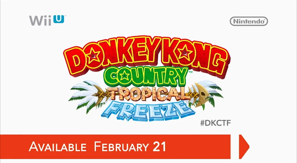 Hra Donkey Kong Country Tropical Freeze pro Wii U
