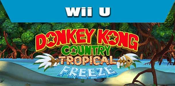 Hra Donkey Kong Country: Tropical Freeze pro Wii U