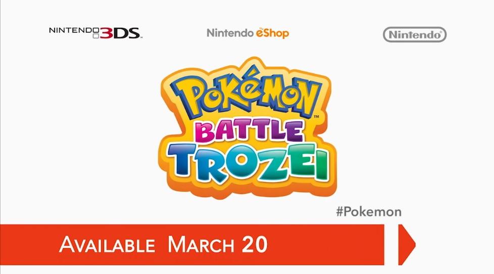 Hra Pokémon Battle Trozei pro Nintendo 3DS