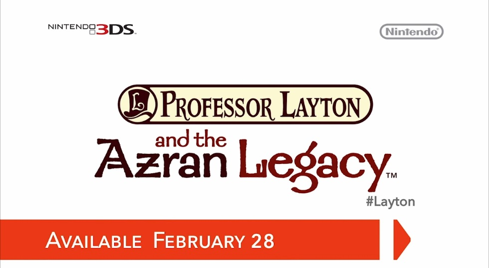 Hra Professor Layton and the Azran Legacy pro Nintendo 3DS