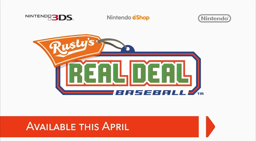 Hra Rusty's Real Deal Baseball pro Nintendo 3DS