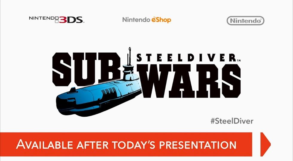 Hra Steeldiver Sub Wars pro 3DS