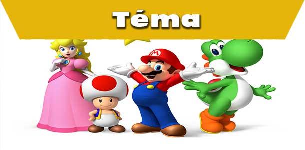 Mario a kladné postavy z jeho světa