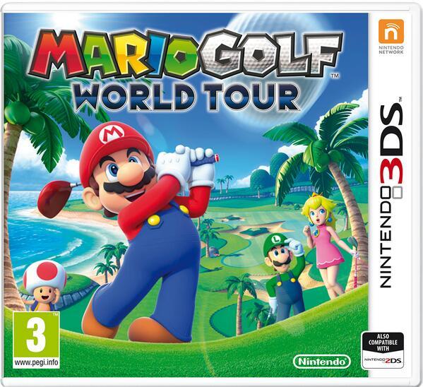 Mario Golf: World Tour - obal ke hře