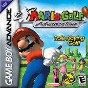 Hra Mario Golf: Advance tour