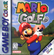 Hra Mario Golf pro GameBoy Color