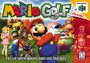 Hra Mario Golf pro N64