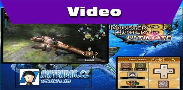 Monster Hunter 3 Ultimate Gameplay ze hry