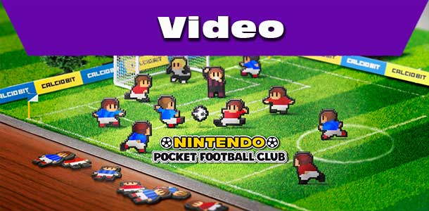 první pohled na hru Nintendo Pocket Football Club