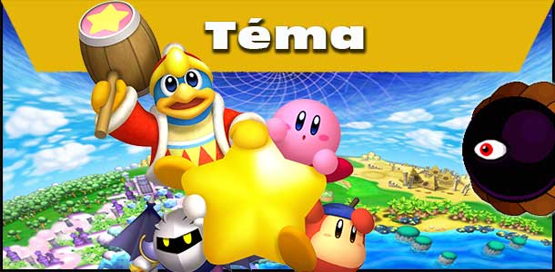 Kirbyho svět - postavy