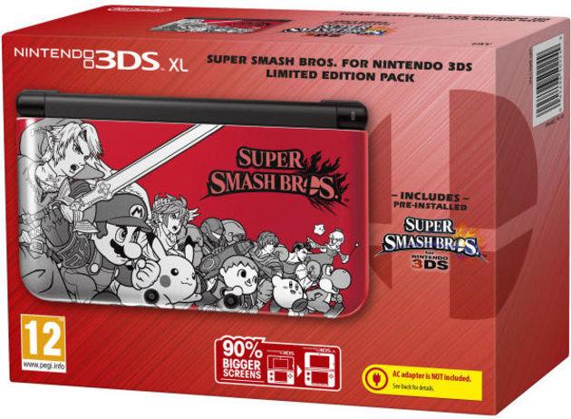 Speciální edice Super Smash Bros. pro 3DS XL