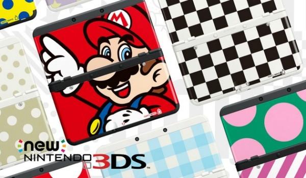 Nové 3DS Kryty